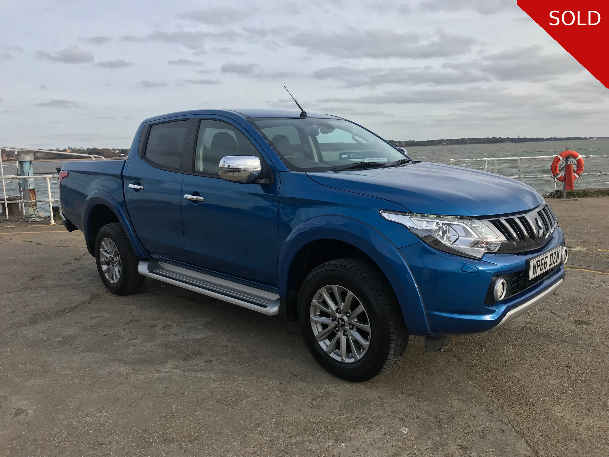 2017 Mitsubishi L200 Double Cab Pick Up Warrior Automatic 4x4 - SOLD