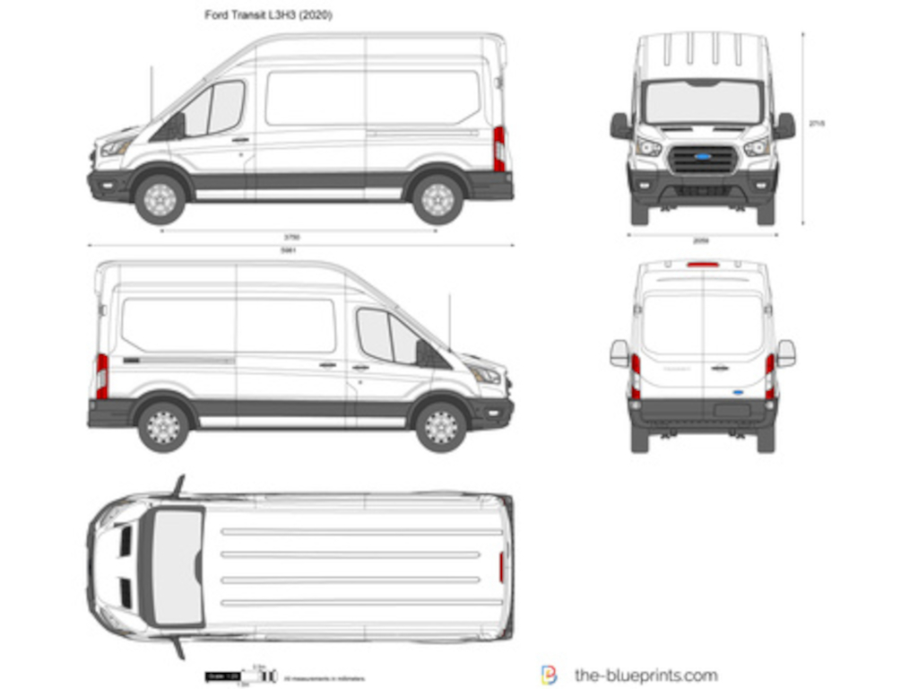 New Ford Transit 350 L3H3 2.0TDCi Ecoblue RWD 130ps Leader Van Polar White including Ply Lining