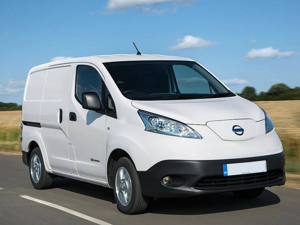 New Fully Electric Nissan eNV200 Acenta Van Auto 40kWh